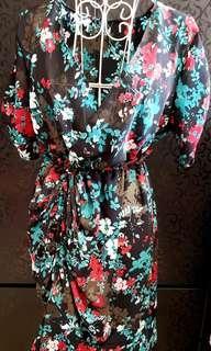 Kimono Ruffle Dress