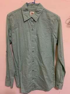 Lativ 淺綠色襯衫