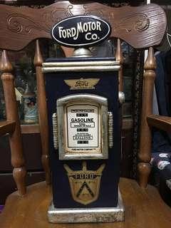 懷舊彷油站 小木櫃