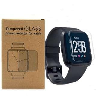Fitbit Versa Premium Tempered Glass Screen Protector 9H HD