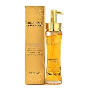 3W CLINIC BERGAMO LUXURY GOLD WRINKLE CARE REPAIR AMPOULE
