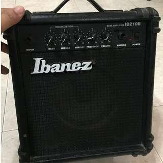 Ibanez Guitar Amplifier Bass IBZ10B 10W / 10 Watt Amp