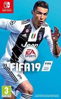 (全新 旺角門市現貨)全新 Switch Fifa 19 2019 只售$275