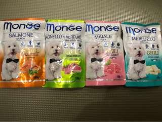 4 packets of MONGE
