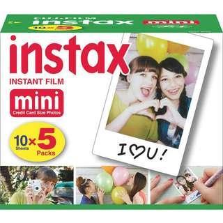 FUJIFILM Instax Mini Film Polaroid 10pack