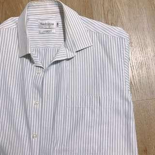 vanheusan striped blouse