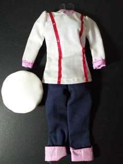 Barbie Chef Outfit
