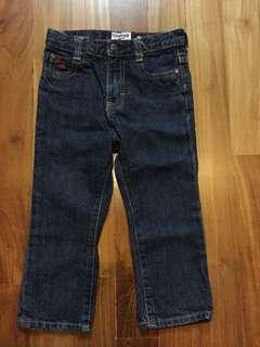 OshKosh B'gosh denim jeans 24 mths
