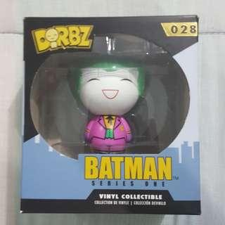 Legit Brand New With Box Funko Dorbz Batman Series One The Joker Toy Figure