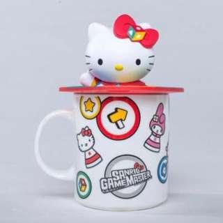 《會場限定》Sanrio Game Master Hello Kitty mug with 3D lid 哈囉吉蒂杯連立體杯蓋