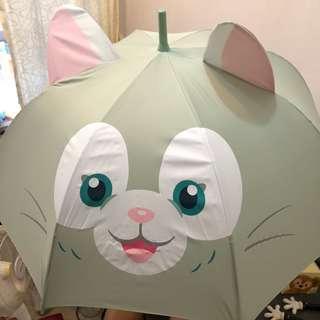 迪士尼 正品 Gelatoni 雨傘 遮 雨具  Disney Umbrella Duffy家族 聖誕禮物 交換禮物