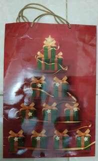 Paperbag Paper Bag Tas Karton Metro Edisi Christmas
