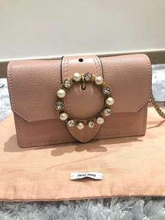 Miu miu clutch bag 100% real n new (Chanel)