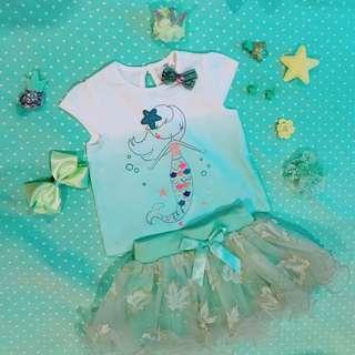 Baby top & skirt set #BlackFriday100