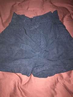 🚚 Club monaco navy blue paperbag shorts