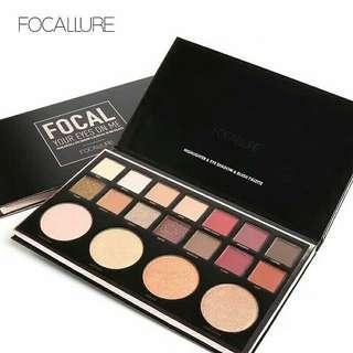 Focallure Eyeshadow & Highlighter FOCAL Palette