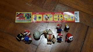 Mario 珍藏扭蛋(中古品)