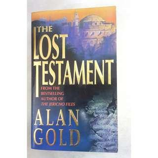 The Lost Testament by Alan Gold #BlackFriday100