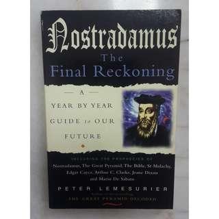 Nostradamus: The Final Reckoning by Peter Lemesurier #BlackFriday100