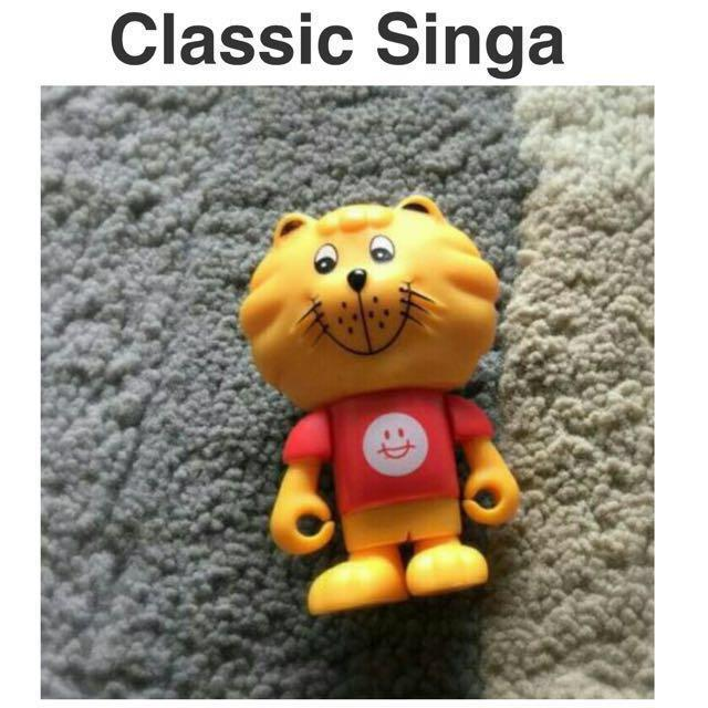 SG50 Singa lion Toy Figurine Collection