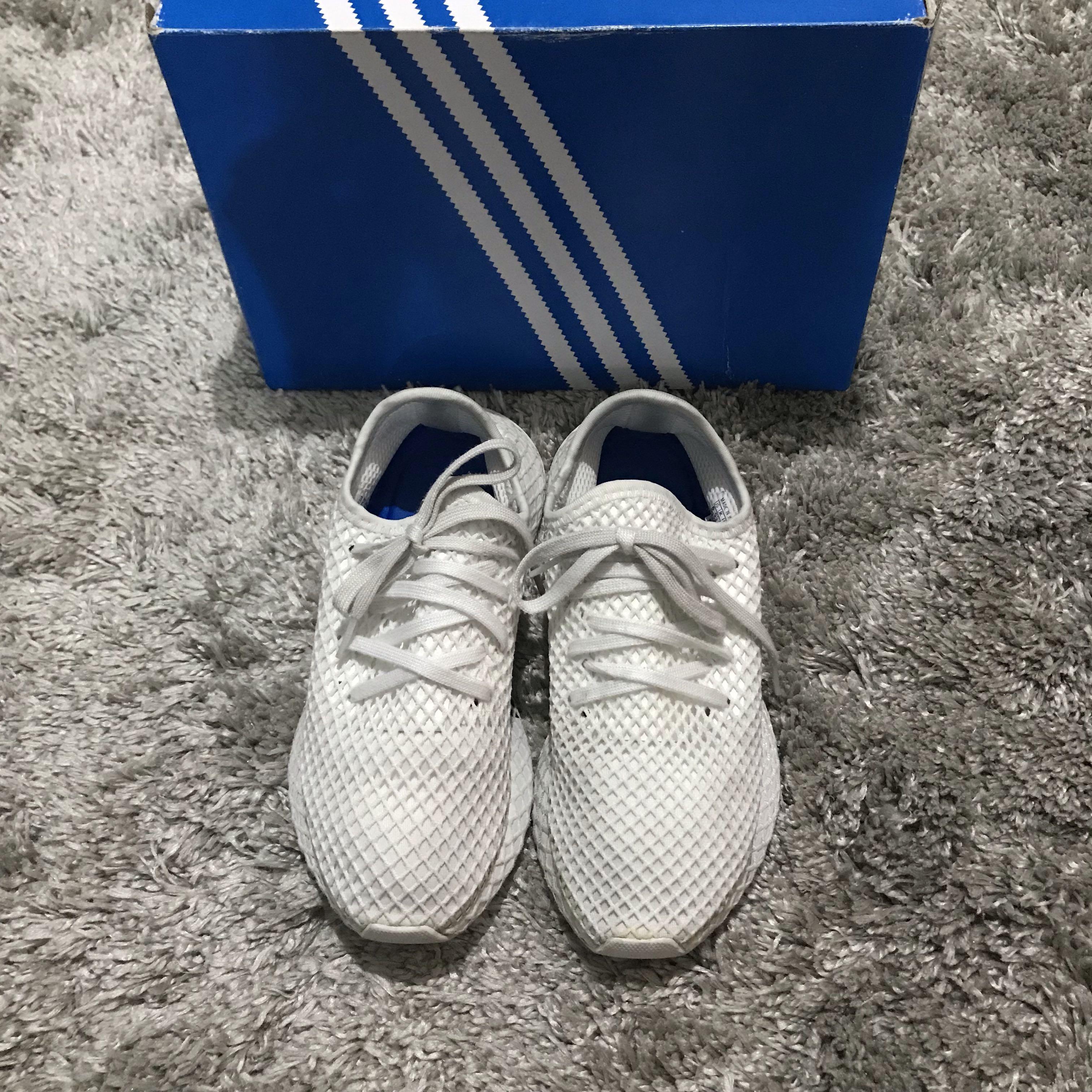 0a37d3b047b1a Adidas NMD Deerupt Runner White Sneaker