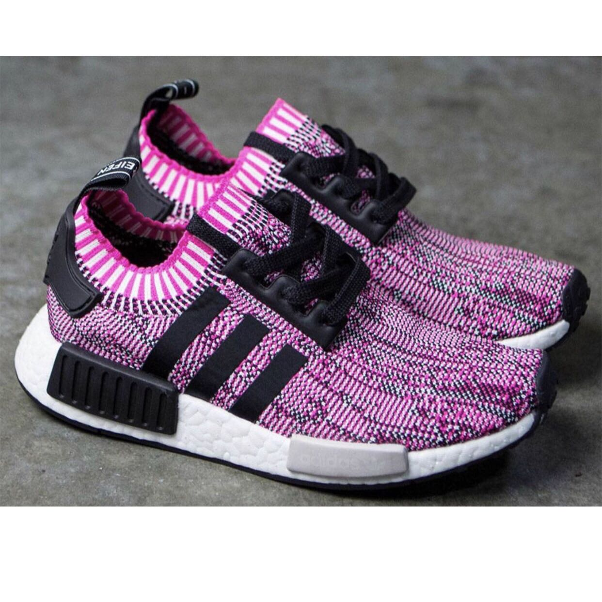 db95776be18ee Adidas NMD R1 Primeknit Rose Pink AUTHENTIC