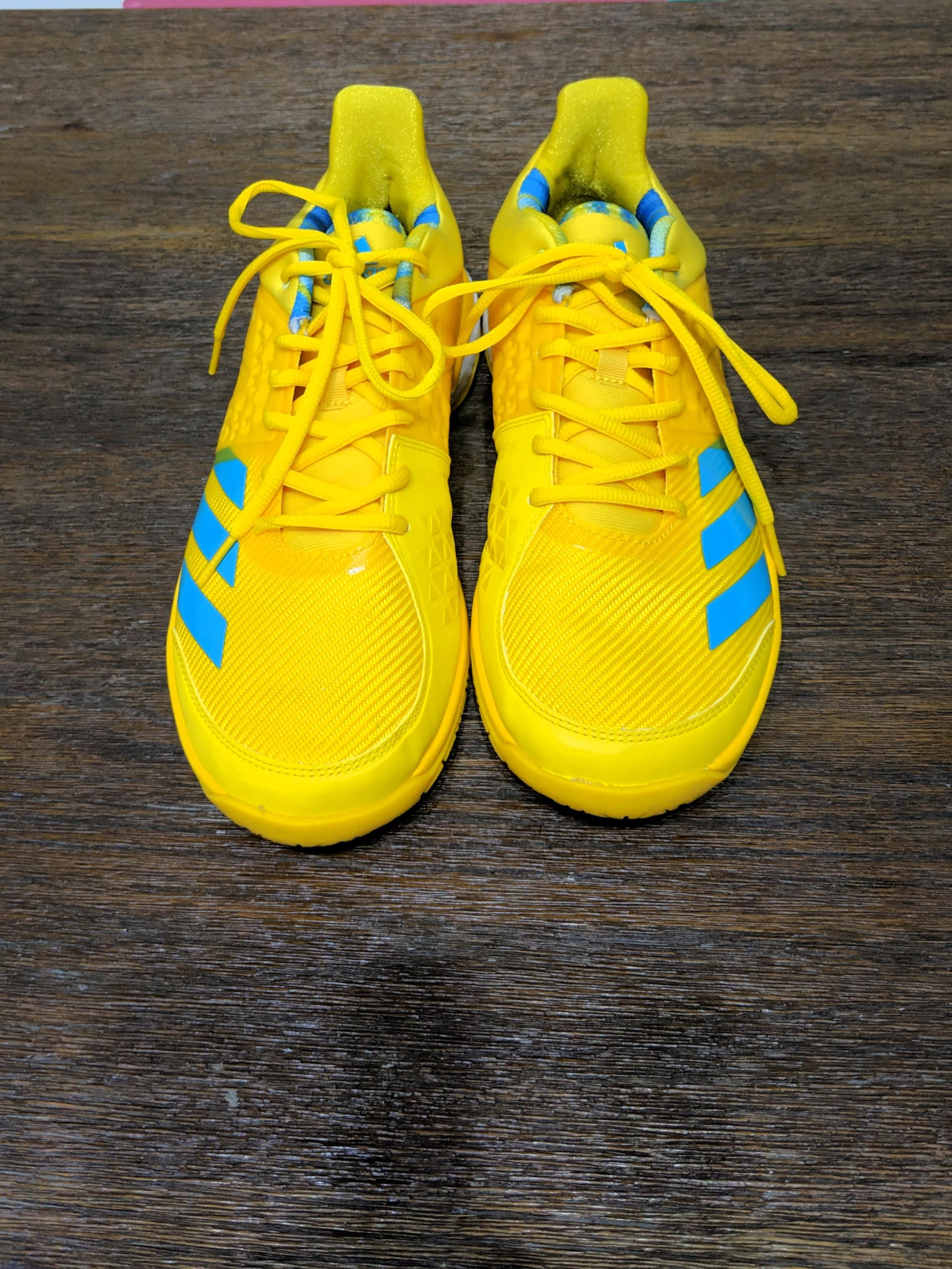 Adidas Wucht P8 badminton shoes US8.5