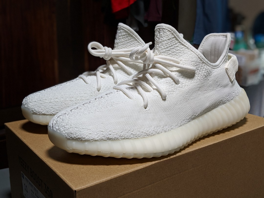 d72029447f6 Adidas Yeezy Boost 350 V2 Cream   Triple White