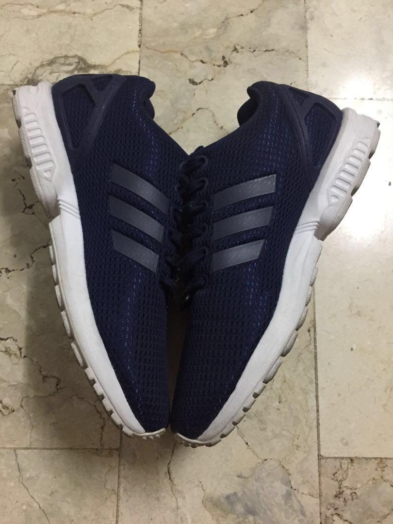 b3125c611caa2 Adidas Zx Flux Torsion Navy Blue