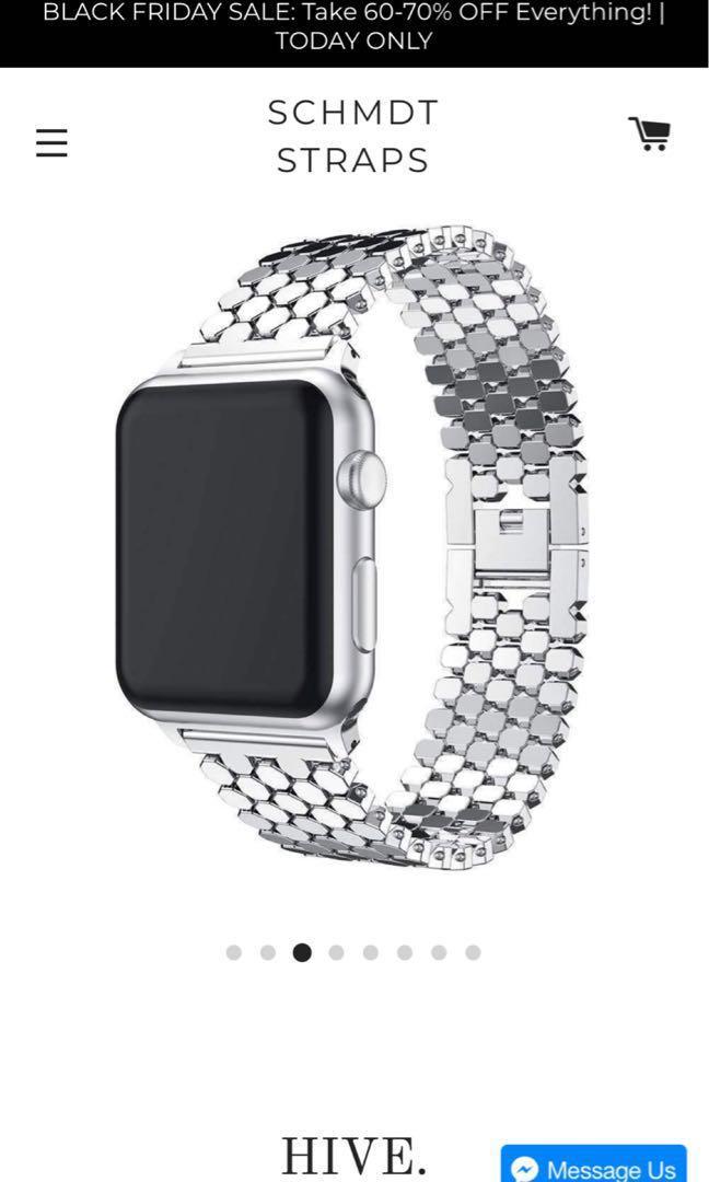 Apple Watch strap bracelet schmdts brand