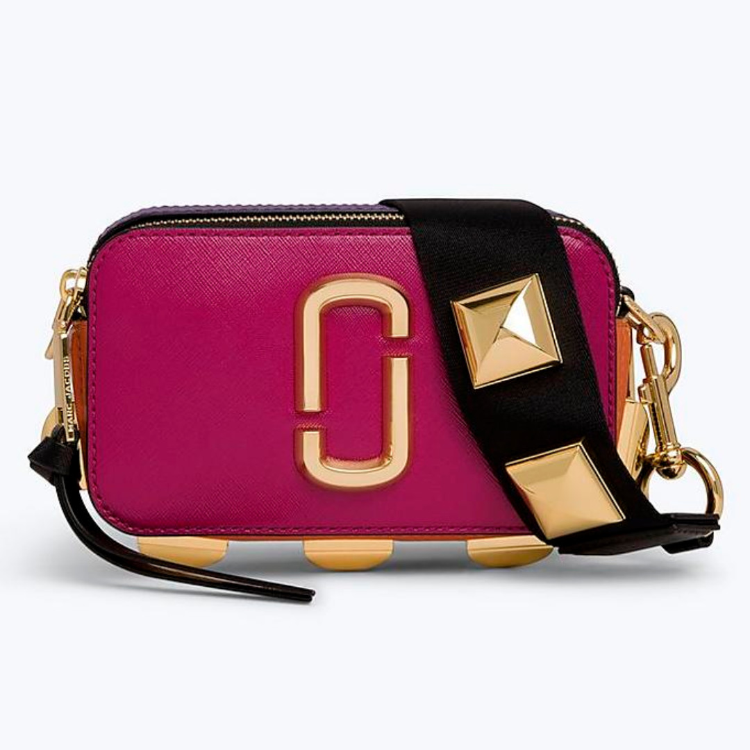 3c01dd2f2 Authentic Marc Jacobs Studded Snapshot Small Camera Bag Crossbody ...