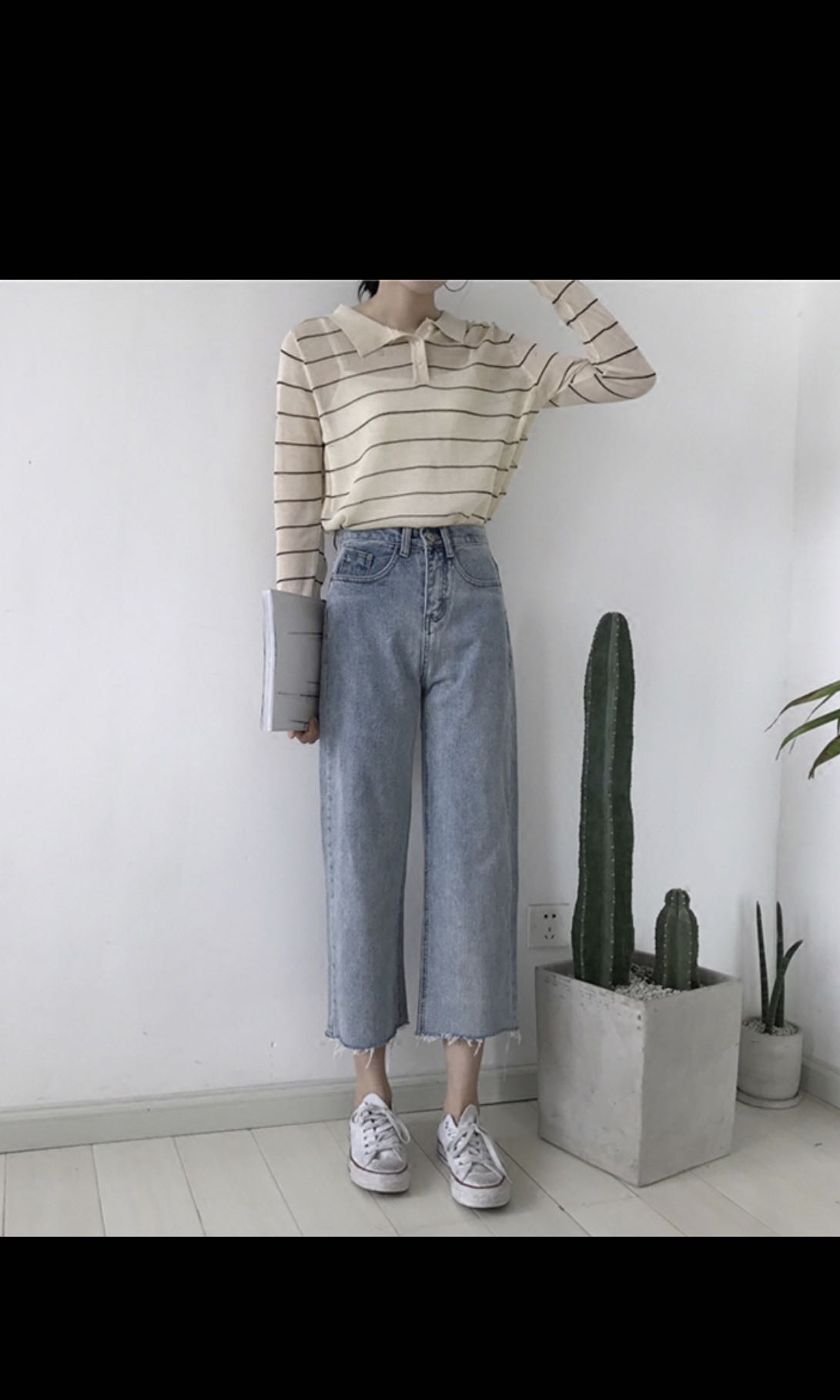 BNWT High waisted mom jeans, Women s Fashion, Clothes, Pants, Jeans    Shorts on Carousell 93febdfe4275