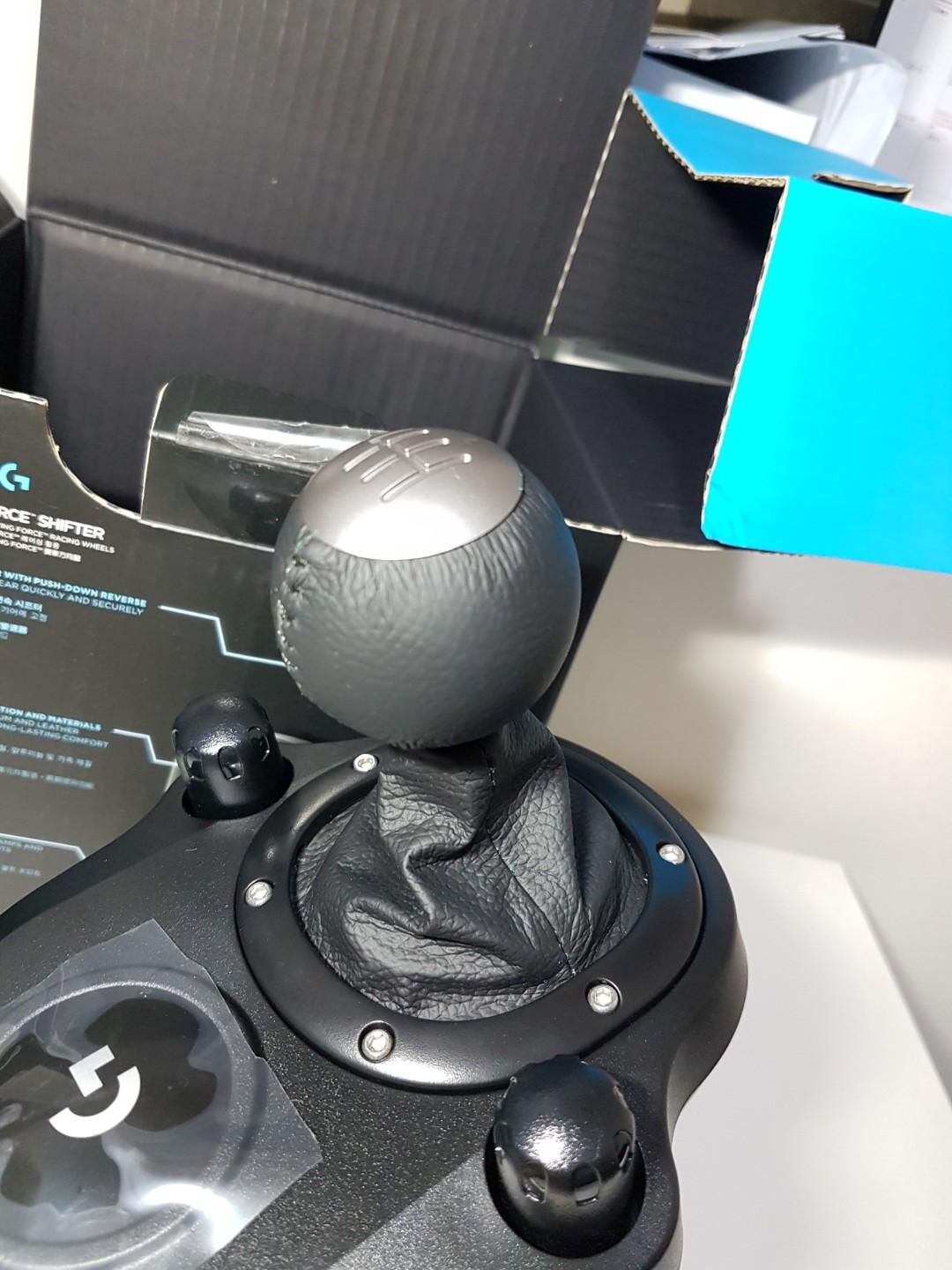 Totally New, Never Played - Logitech Force Shifter for G29