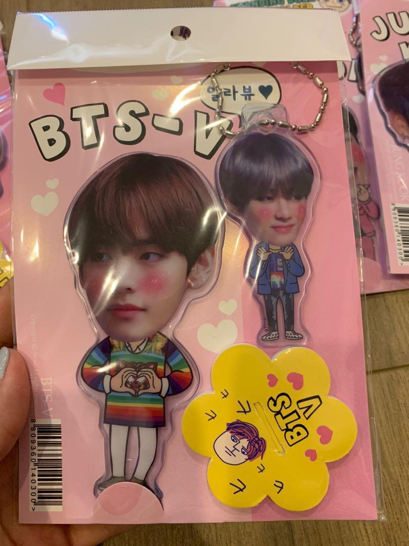BTS Tae & Jungkook unofficial standing doll + key holder