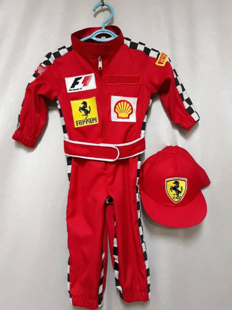صينية بشكل فضفاض ادوات مكتبيه Baby Ferrari Racing Suit Zetaphi Org