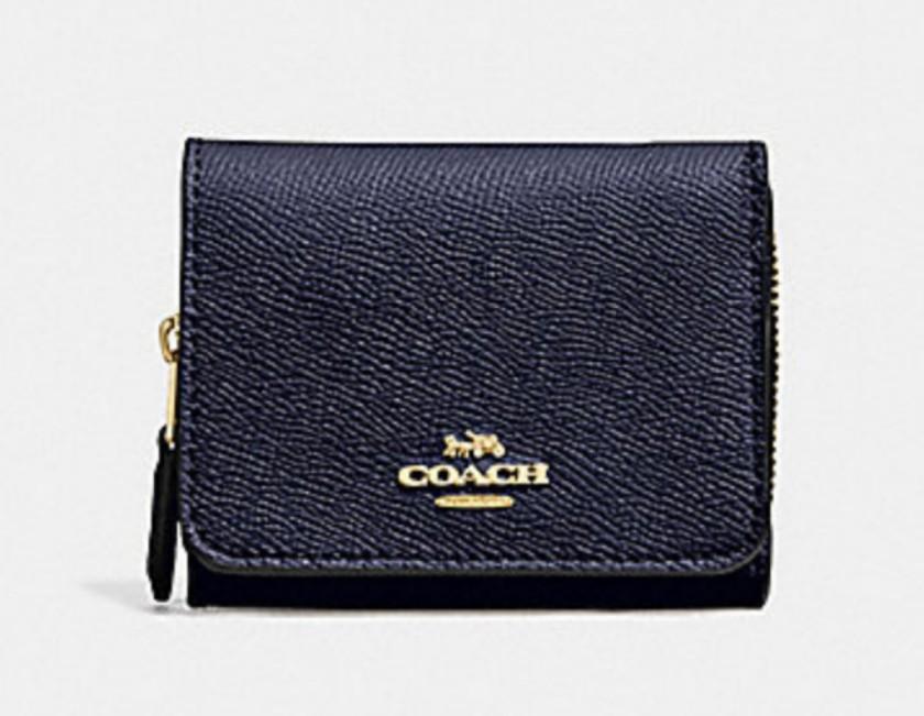 d4e49f6b4fbf Coach small trifold wallet F37968