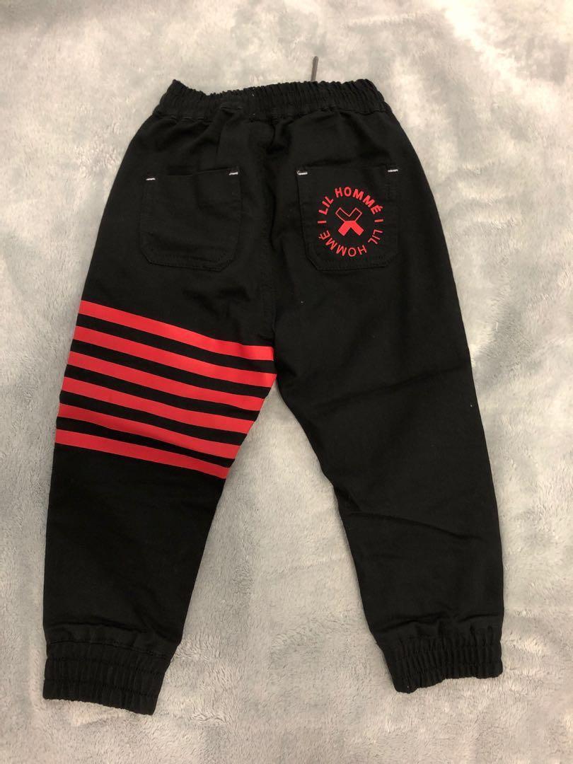 Culture kings kids Black jeans lil homme 1-2 YEARS