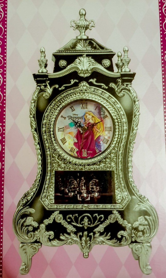 8b3135277bc Disney Princess Rapunzel Clock