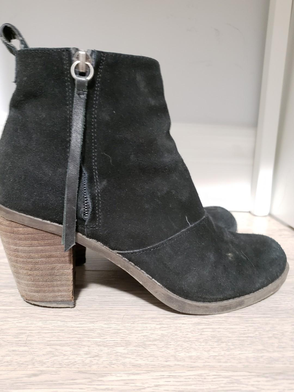 Dolce vita booties black size 6.5