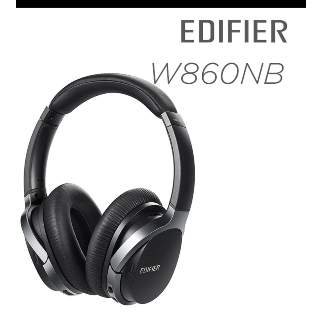 f44e4fbc3be Edifier Bluetooth Active Noise Cancelling Headphones W860NB, Electronics,  Others on Carousell