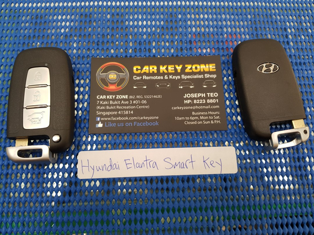Hyundai Elantra Smart Key, Car Accessories, Accessories on Carousell