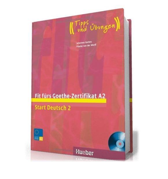 Fit Fürs Goethe Zertifikat A2 Books Stationery Textbooks