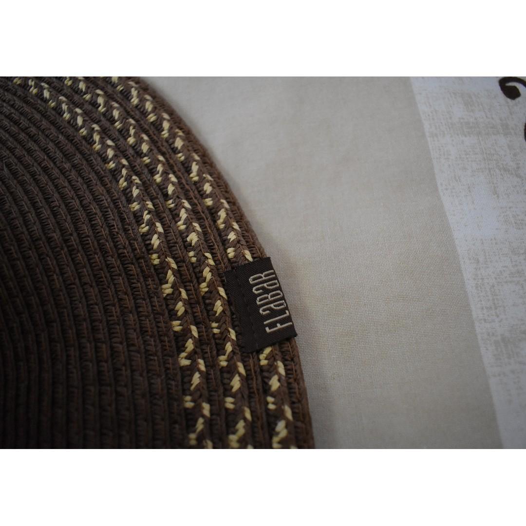 Flabar Brown Floppy Wide-Brimmed Hat – Made in Spain