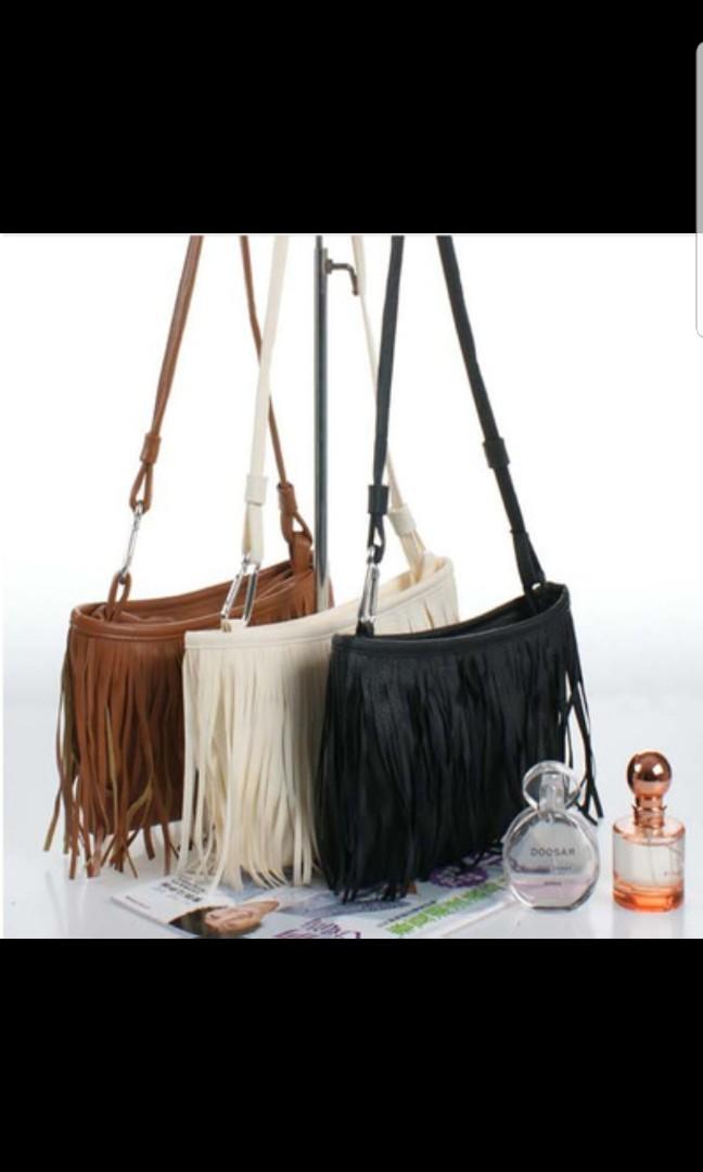 Fringe bag brown women fashion bags wallets sling bags on carousell jpg  648x1080 Brown fringe bag fc5c09ffae7fd