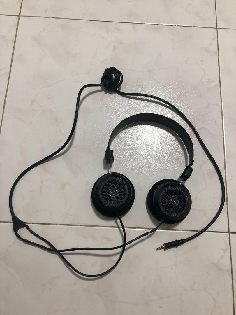 Grado SR80e Prestige Series Headphone, Electronics, Audio on