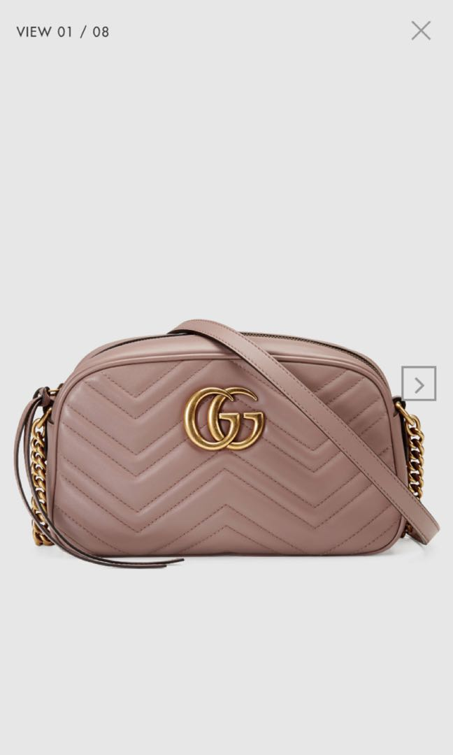 86c80afb49e4 Gucci GG Marmont small matelassé shoulder bag, Luxury, Bags ...