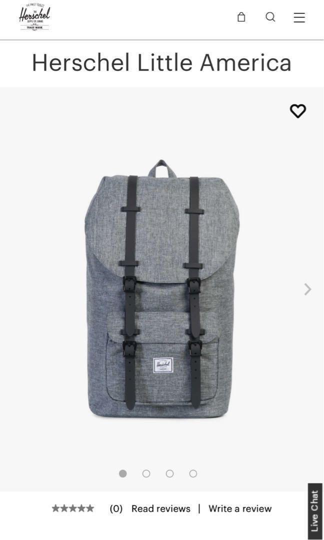 67060183b1a Hershel Little America Backpack 25L