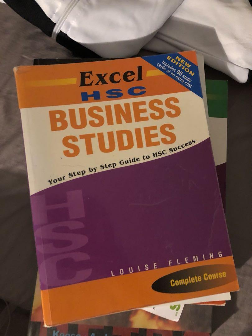 HSC business studies textbook