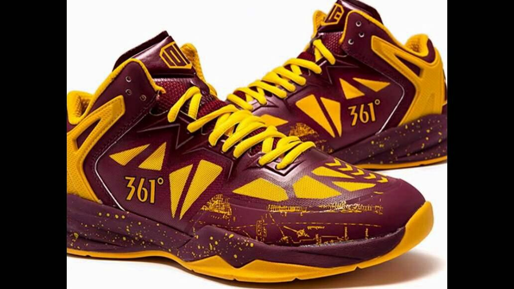 d543bcee33d World Wear Footwear Source · Kevin Love 361 All Star signature shoes Sports  Sports Apparel on