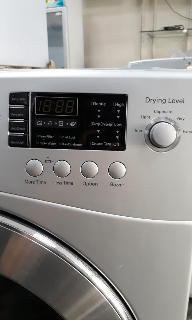 Lg Dryer Clean Condenser
